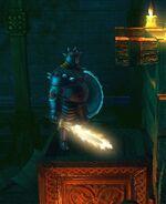 Flaming Sword - close up