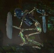 Armored skelly