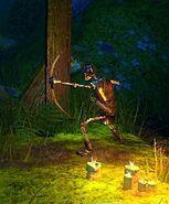 Armored Archer Skeleton - close up