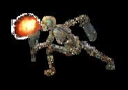 Skeleton Firebreather
