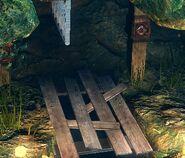 Timber Grate - close up