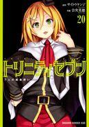 Trinity Seven Manga Vol 20