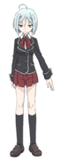 Arin Kannazuki Anime Character Full Body