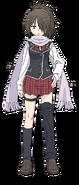 Levi Kazama Anime Character Full Body
