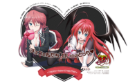 Lilith Rias Valentines Day Trinity Seven Highs School DxD