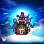 Fnaf christmas poster