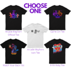 ArcadeMayhem Shirts