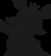 Alpine ui plushsuit radioactive foxy silhouette 1