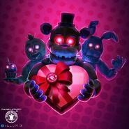Fnaf valentine poster