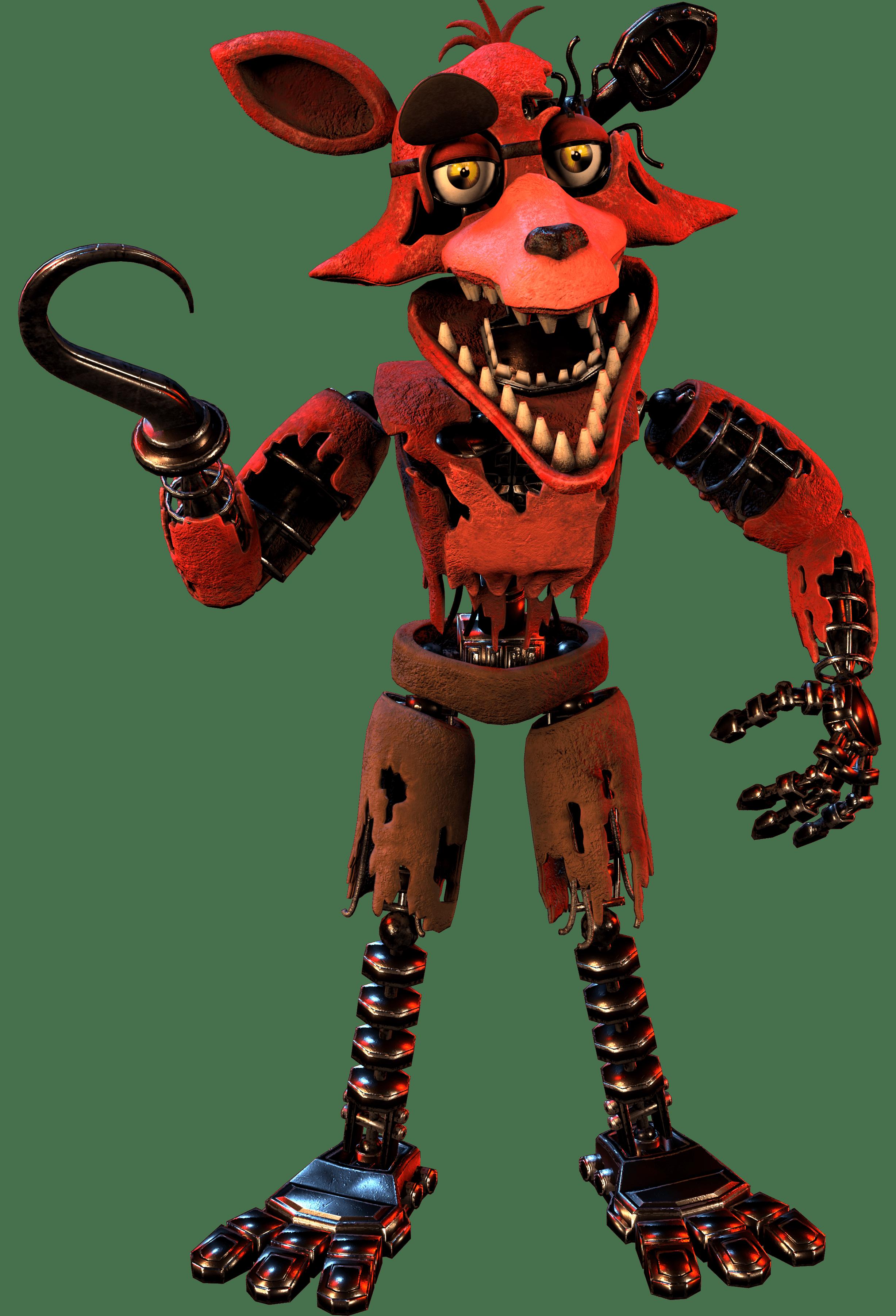 Withered Foxy  Triple A Fazbear Wiki  Fandom