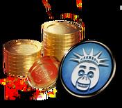 Alpine ui shop item coin avatar chica liberty