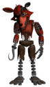Withered Foxy Parts & Service