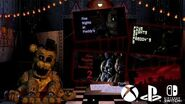 Five Nights at Freddy's 1-4 on PS4, Xbox One and Nintendo Switch