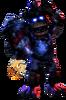 Damaged Firework Freddy