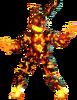Flaming Springtrap Fireless