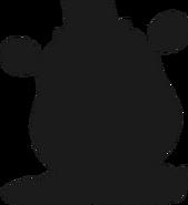 Alpine ui plushsuit toy freddy silhouette 1
