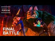 TROLLHUNTERS- RISE OF THE TITANS - Epic Final Battle Scene - Official Clip - Netflix