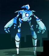 Gun Robot Concept Art 2