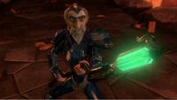 Merin got his scepter back