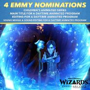 Wizards - 4 Emmy Nominations