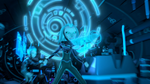 Aja unlocks the Serrator's ability (5)