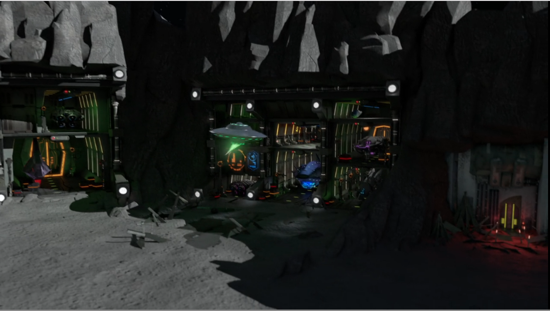 Hunter's Guild Lunar Outpost