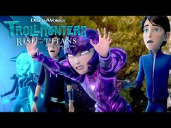 Earth vs. Ice - TROLLHUNTERS- RISE OF THE TITANS - Netflix