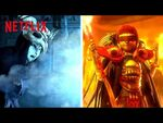 Wizard Train Battle of Fire & Ice 🔥❄️ Trollhunters- Rise of the Titans - Netflix Futures