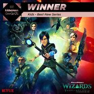 Wizards - Winner for Best New Series