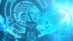 Aja unlocks the Serrator's ability (2)
