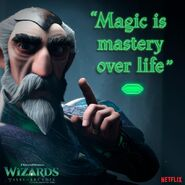 Wizards Maigic is mastery over life