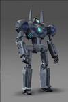 Gun Robot Concept Art