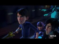 Douxie's Sticky Magic - TROLLHUNTERS- RISE OF THE TITANS - NETFLIX