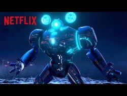 The Secret Weapon- Gun Robot 🤖 Trollhunters- Rise of the Titans - Netflix Futures