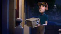 Waka Chaka!-Delivery Driver returns for the second time at the front door