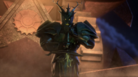 Green Knight's enterance