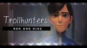 RUN AND HIDE JIM Trollhunters