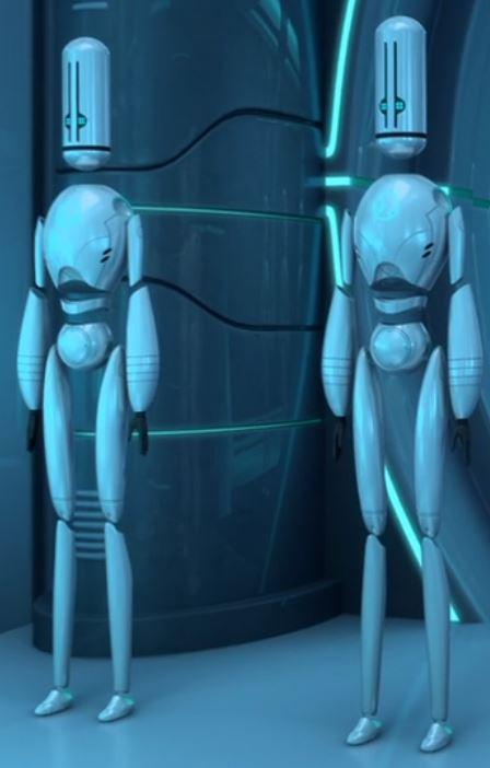 Blank Robots
