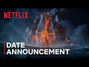 Trollhunters- Rise of the Titans - Guillermo del Toro - Date Announcement - Netflix