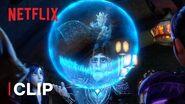 Floating Castle Battle 🏰 Wizards Netflix Futures