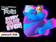 Every Trolls Hug and High Five Ever! - TROLLS