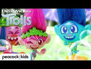 Branch STORMS Poppy's Picnic! - TROLLS