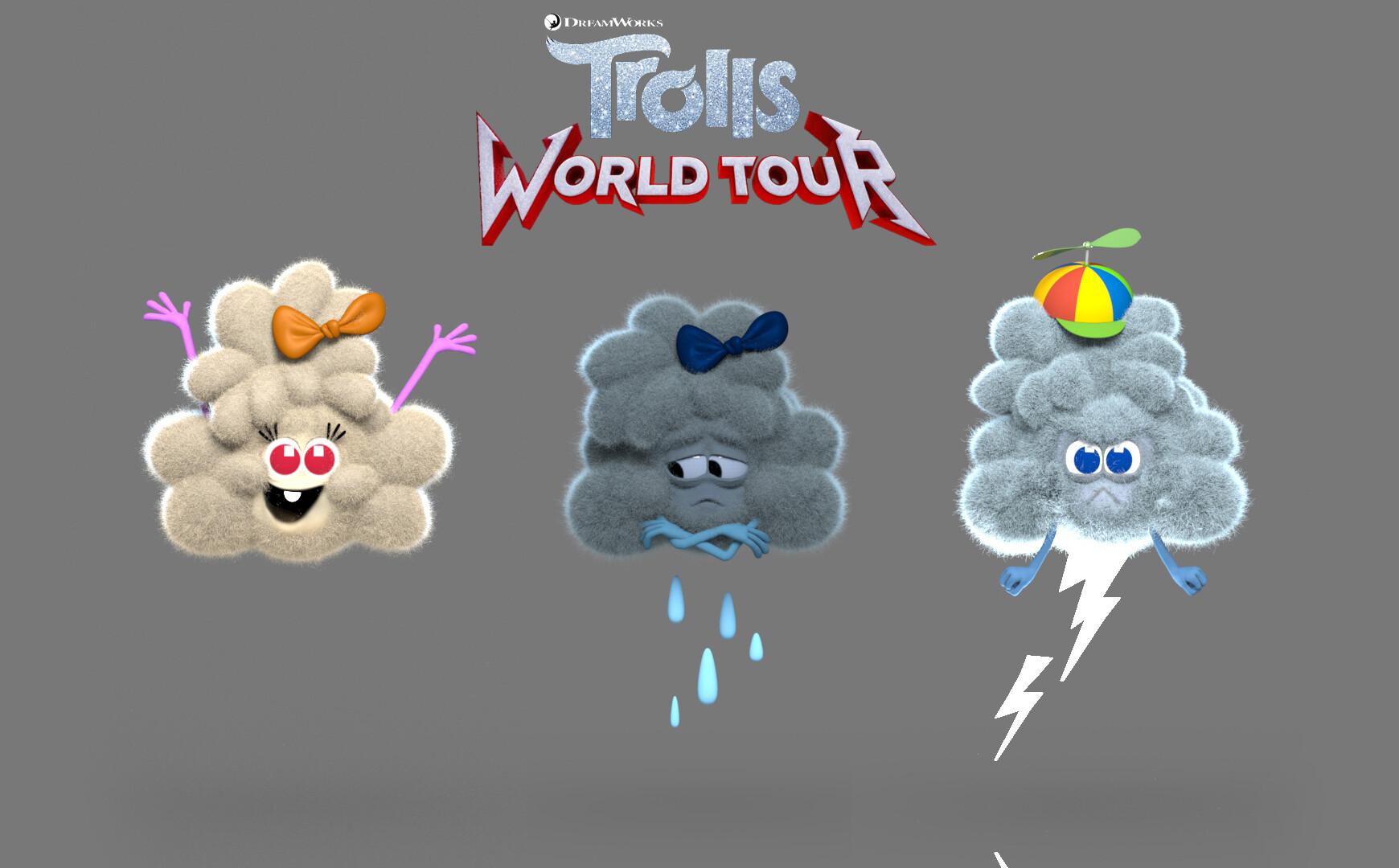 Cloud Guy S Children Trolls Film Wikia Fandom