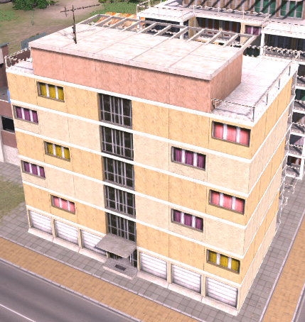 Apartment Block (Tropico 4)