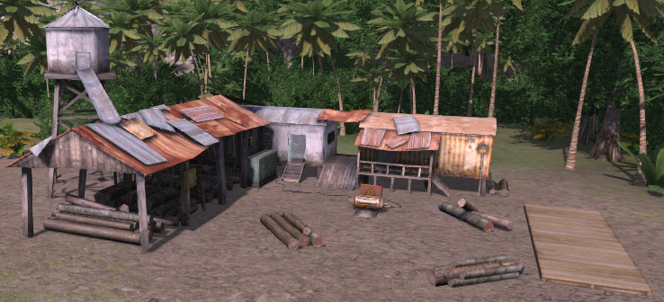 Logging Camp (Tropico 4)