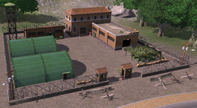 Army Base (Tropico 4)