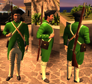 Colonial infantry