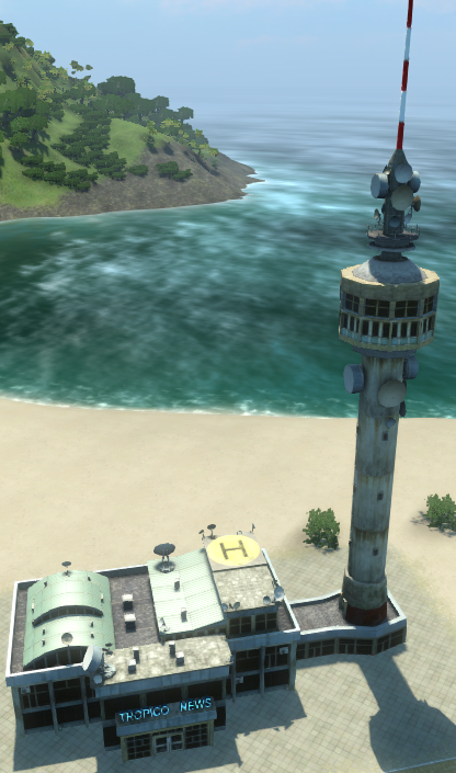 TV Station (Tropico 4)