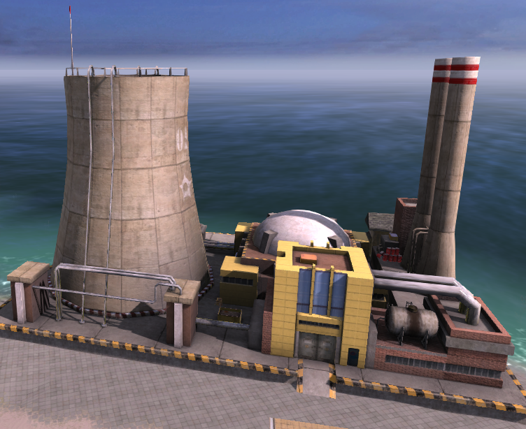 Nuclear Power Plant (Tropico 4)