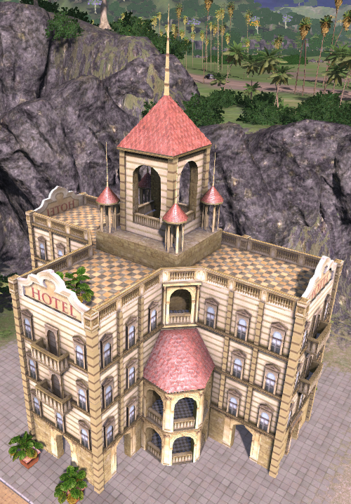 Luxury Hotel (Tropico 4)